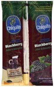 Chiquita Fruit Pulp Blackberry