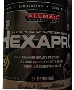 Allmax Nutrition Hexapro Cookies & cream Milkshake