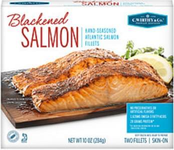 C. Wirthy & Co. C. Wirthy & Co. Blackened Hand-Seasoned Atlantic Salmon Fillets Blackened Hand-Seasoned Atlantic