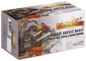 Echelon Foods Turkey Breast Roast with Brown Rice, Apple & Bacon Stuffing