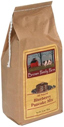 Brown Family Farm Blueberry Pancake Mix - 24 oz
