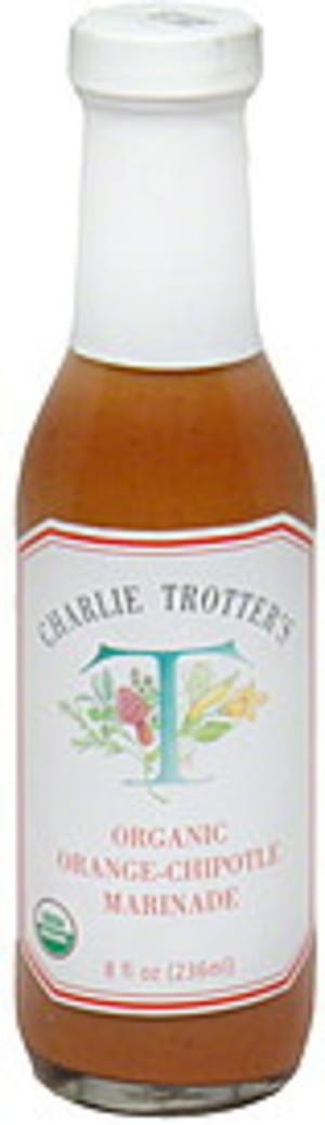 Charlie Trotters Organic Orange-Chipotle Marinade - 8 oz