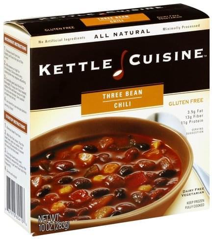 Kettle Cuisine Three Bean Chili - 10 oz