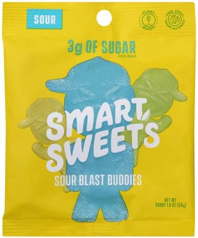 Smart Sweets Sour Blast Buddies Candy - 1.8 oz