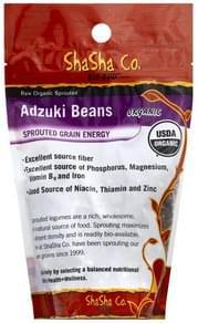 ShaSha Adzuki Beans Raw Organic Sprouted