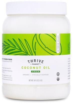 Thrive Market Organic Virgin Coconut Oil, 54 oz - 54 oz