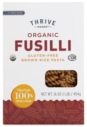 Thrive Market Organic Brown Rice Fusilli