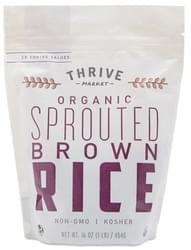 Thrive Market Organic Sprouted Brown Rice