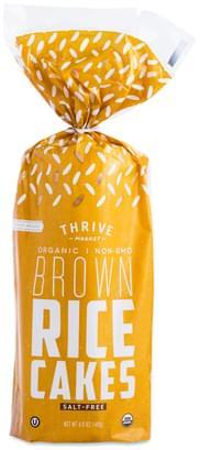 Thrive Market Salt-free Organic Whole Grain Rice Cakes - 4.09 oz