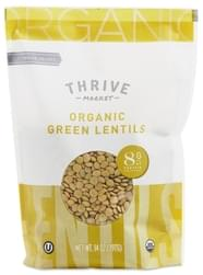 Thrive Market Organic Dried Green Lentils