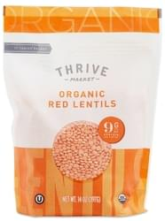 Thrive Market Organic Dried Red Lentils