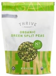Thrive Market Organic Dried Green Split Peas