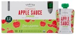 Thrive Market Organic Apple Sauce Pouches