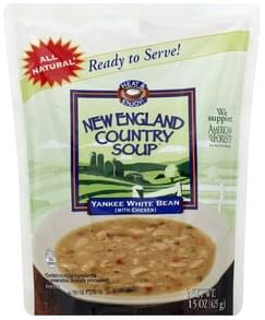 New England Country Soup Soup Yankee White Bean