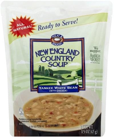 New England Country Soup Yankee White Bean Soup - 15 oz