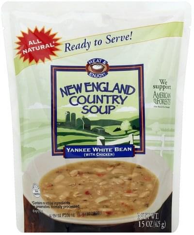 New England Country Soup Yankee White Bean Soup - 15 oz