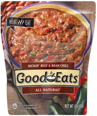 Good Eats Kickin' Beef & Bean Chili - 15 oz