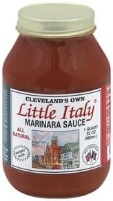 Clevelands Own Marinara Sauce