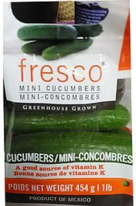 Frescorti Mini Cucumbers