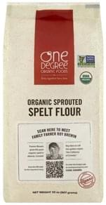 One Degree Organic Foods Flour Spelt, Organic Sprouted