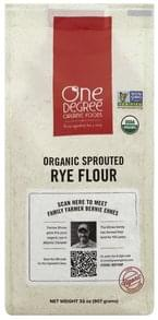 One Degree Organic Foods Rye Flour Organic Sprouted