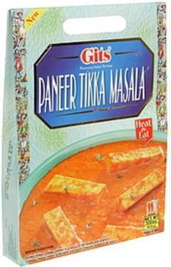 Gits Paneer Tikka Masala Medium