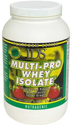 IDS Multi-Pro Whey Isolate Nutragenic, Strawberry
