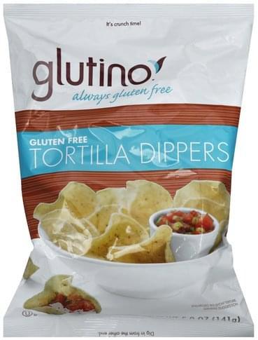 Glutino Gluten Free Tortilla Dippers - 5 oz