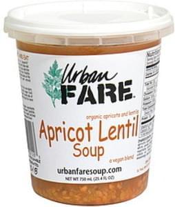 Urban Fare Soup Apricot Lentil