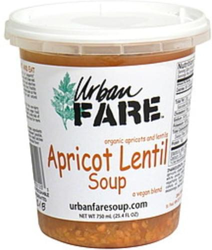 Urban Fare Apricot Lentil Soup - 25.4 oz