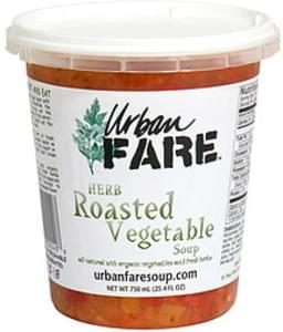 Urban Fare Herb Roasted Vegetable Soup