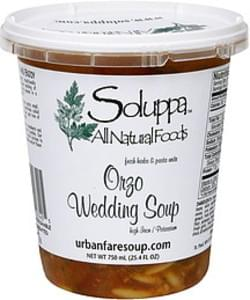 Soluppa Orzo Wedding Soup Fresh Herbs & Pasts Unite