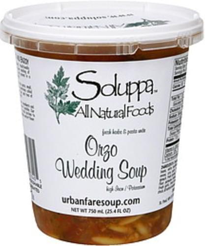 Soluppa Fresh Herbs & Pasts Unite Orzo Wedding Soup - 25.4 oz