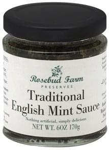 Rosebud Farm Preserves Traditional English Mint Sauce
