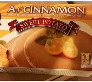De Wafelbakkers Sweet Potato Pancakes A+ Cinnamon