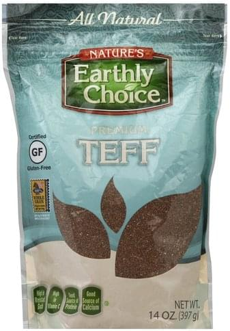 Natures Earthly Choice Premium Teff - 14 oz