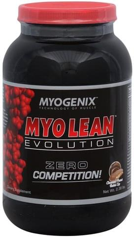 Myogenix Chocolate-Peanut Butter Cup Myo Lean Evolution - 2.38 lb