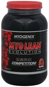 Myogenix Myo Lean Evolution Strawberry
