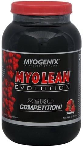 Myogenix Strawberry Myo Lean Evolution - 2.38 lb