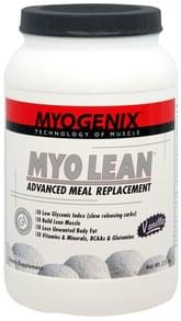 Myogenix Myo Lean Advanced Meal Replacement Vanilla