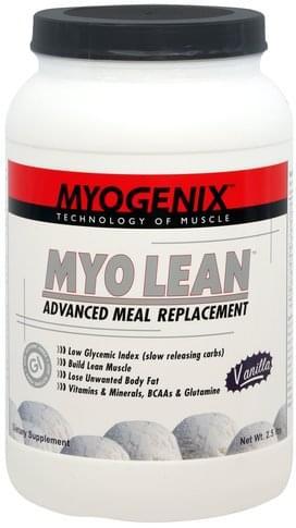 Myogenix Vanilla Myo Lean Advanced Meal Replacement - 2.5 lb