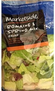 Marketside Salad Romaine & Spring Mix