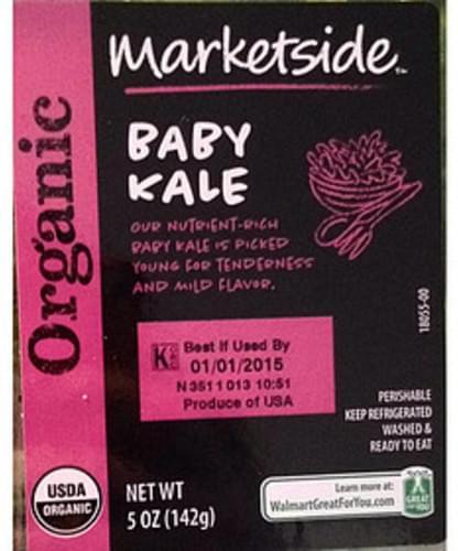 Marketside Baby Kale - 142 g