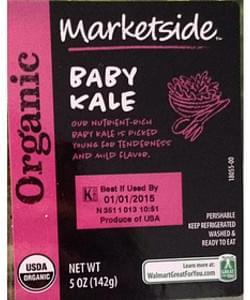 Marketside Baby Kale