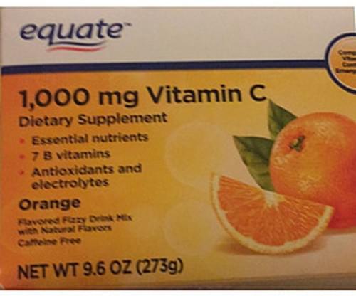 Equate Orange Vitamin C - 9.1 g