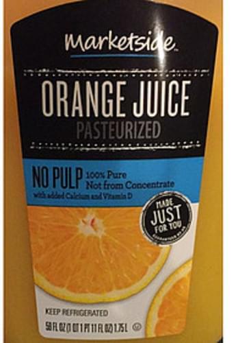 Marketside Orange Juice - 240 ml