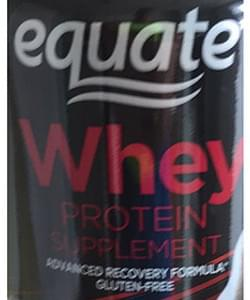 Equate Whey Protein Supplement