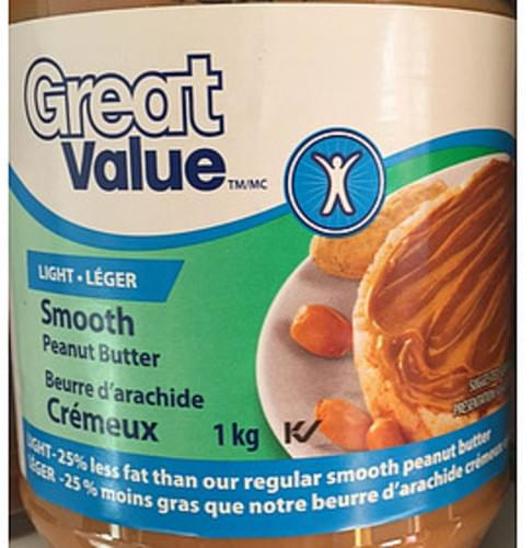 Great Value Smooth Peanut Butter - 15 g