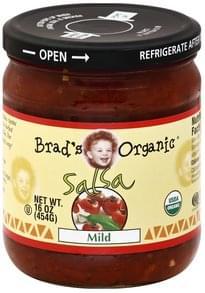 Brads Organic Salsa Mild