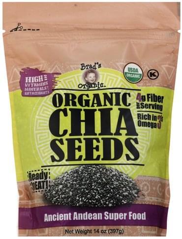 Brads Organic Organic Chia Seeds - 14 oz